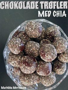 Chokolade trøfler med chia