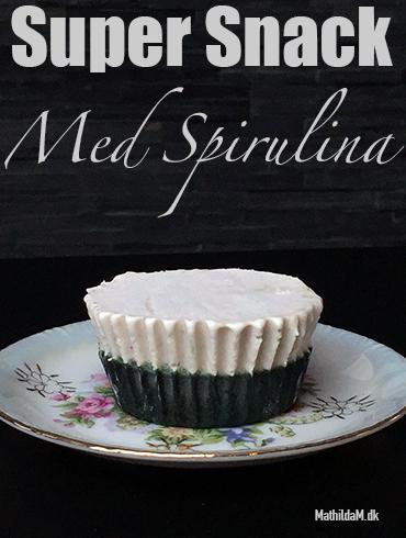 Super Snack med spirulina - NSTV.dk