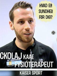 Hvad er sundhed for fysioterapeut Nickolaj Kaae